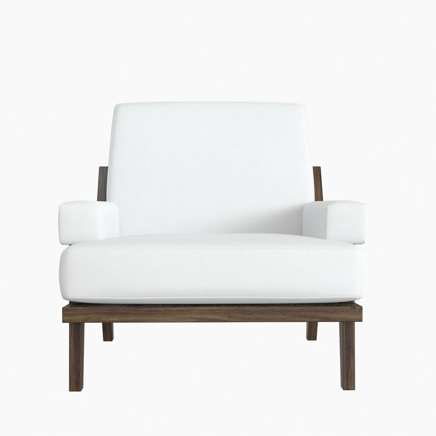 Kimberly Denman Cigar Lounge Chair royalty-free 3d model - Preview no. 9