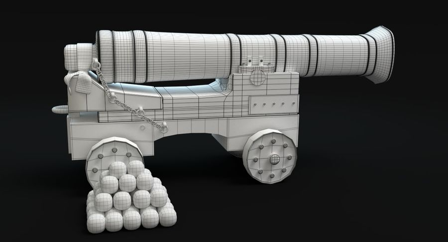 中世纪武器集 royalty-free 3d model - Preview no. 24