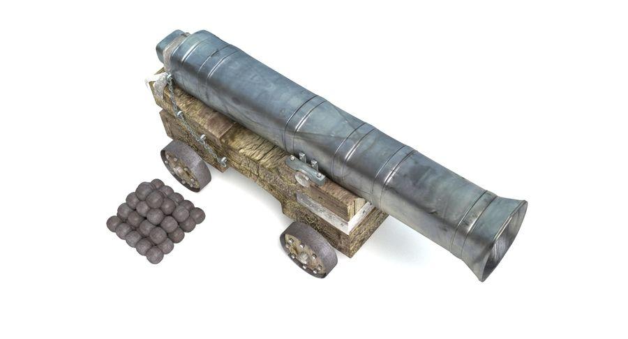 中世の武器セット royalty-free 3d model - Preview no. 22