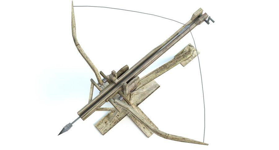 中世の武器セット royalty-free 3d model - Preview no. 4