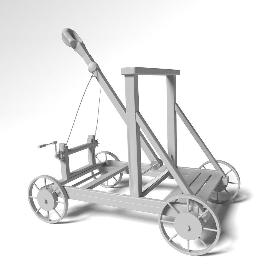 中世の武器セット royalty-free 3d model - Preview no. 18