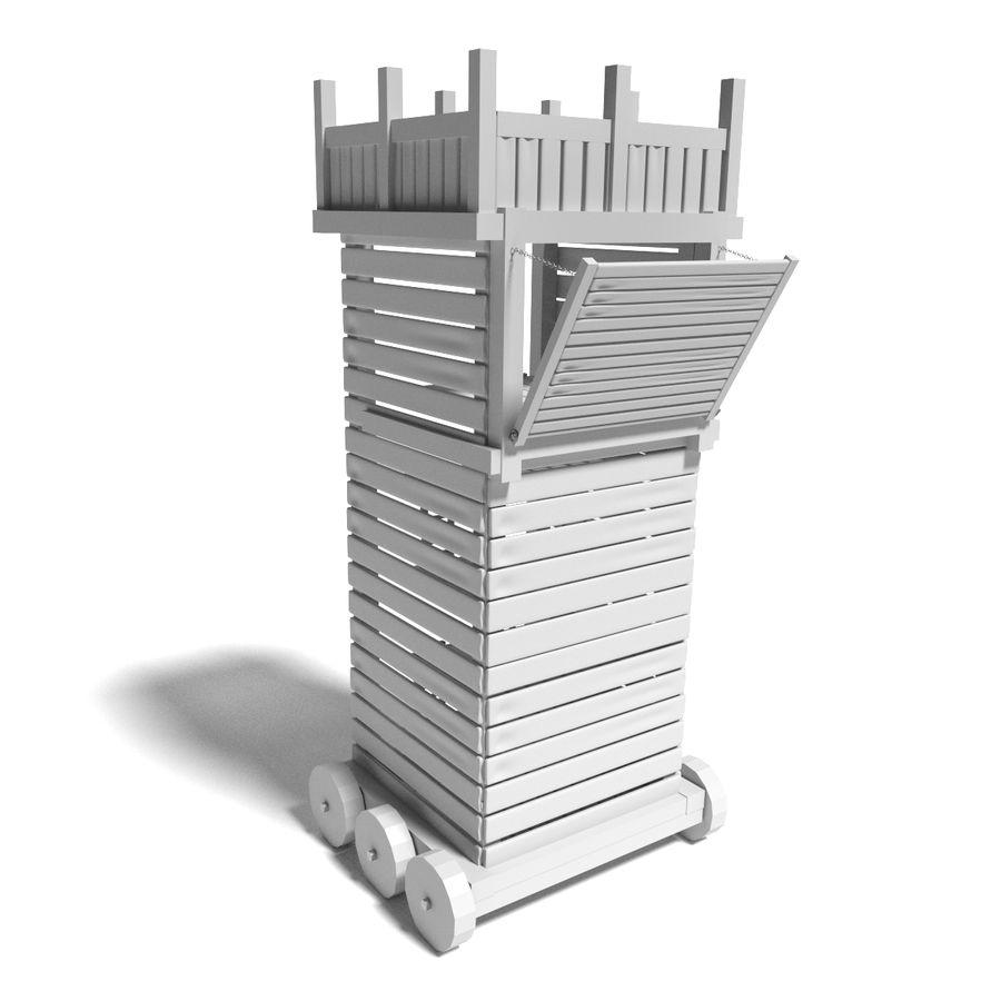 中世纪武器集 royalty-free 3d model - Preview no. 30
