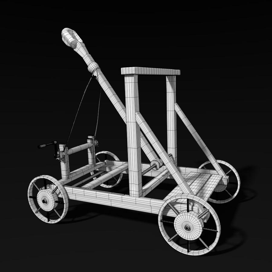 中世の武器セット royalty-free 3d model - Preview no. 19