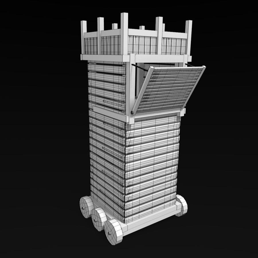 中世の武器セット royalty-free 3d model - Preview no. 31