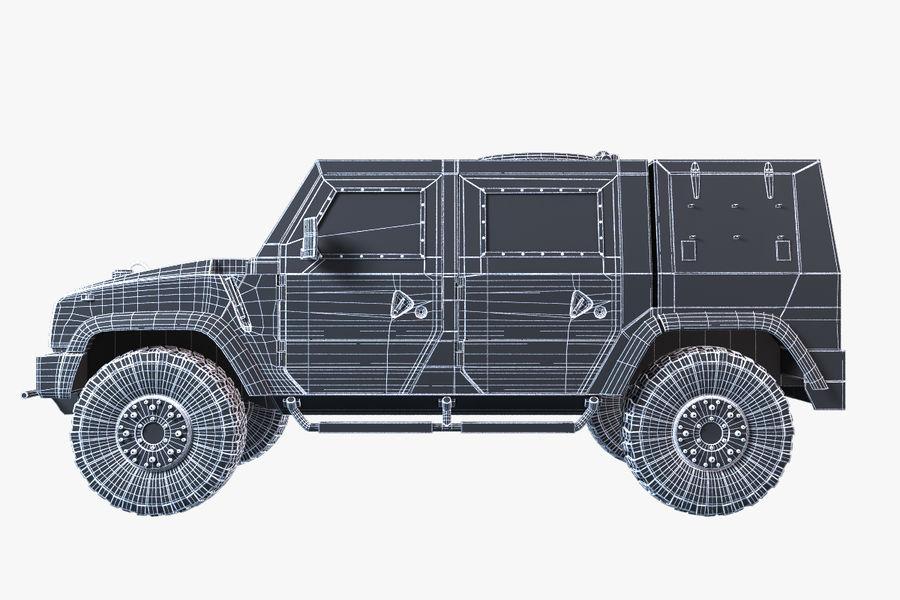 Iveco LMV royalty-free 3d model - Preview no. 13