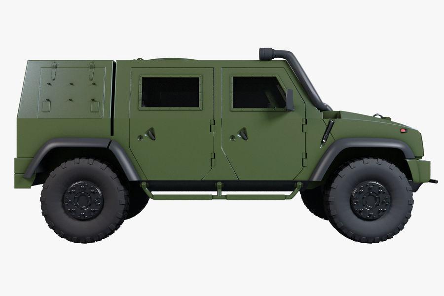 Iveco LMV royalty-free 3d model - Preview no. 6