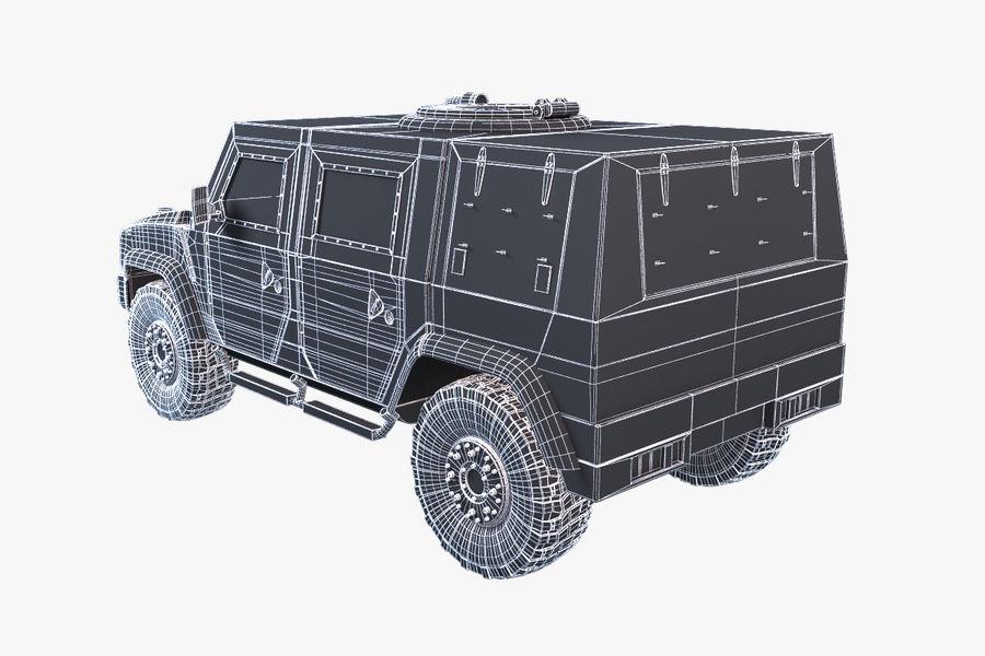 Iveco LMV royalty-free 3d model - Preview no. 11