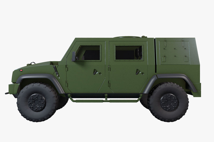 Iveco LMV royalty-free 3d model - Preview no. 12