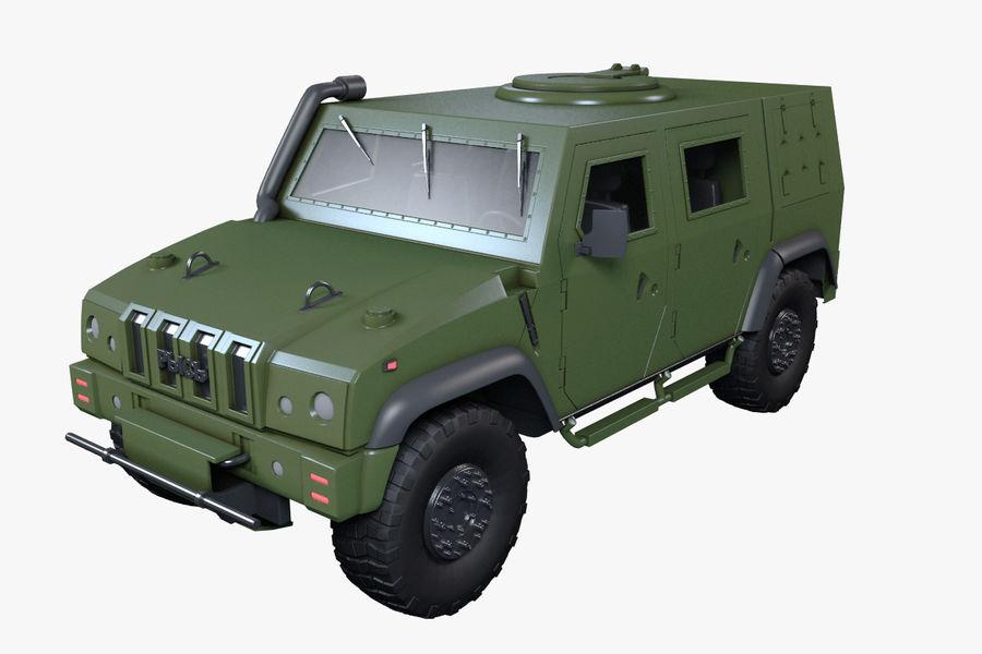 Iveco LMV royalty-free 3d model - Preview no. 2