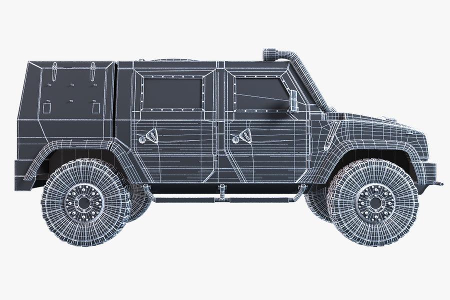 Iveco LMV royalty-free 3d model - Preview no. 7