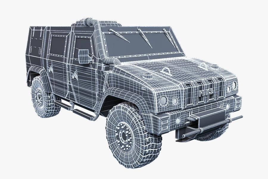 Iveco LMV royalty-free 3d model - Preview no. 5
