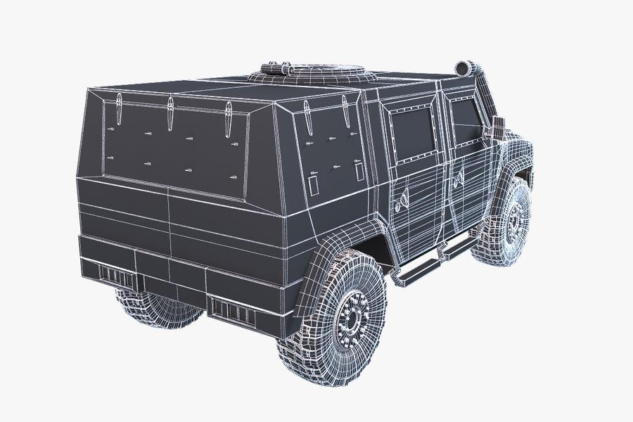 Iveco LMV royalty-free 3d model - Preview no. 9