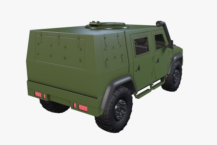 Iveco LMV royalty-free 3d model - Preview no. 8