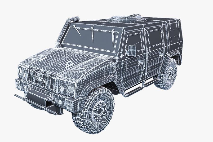 Iveco LMV royalty-free 3d model - Preview no. 3