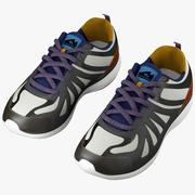 Running Sneakers 3d model