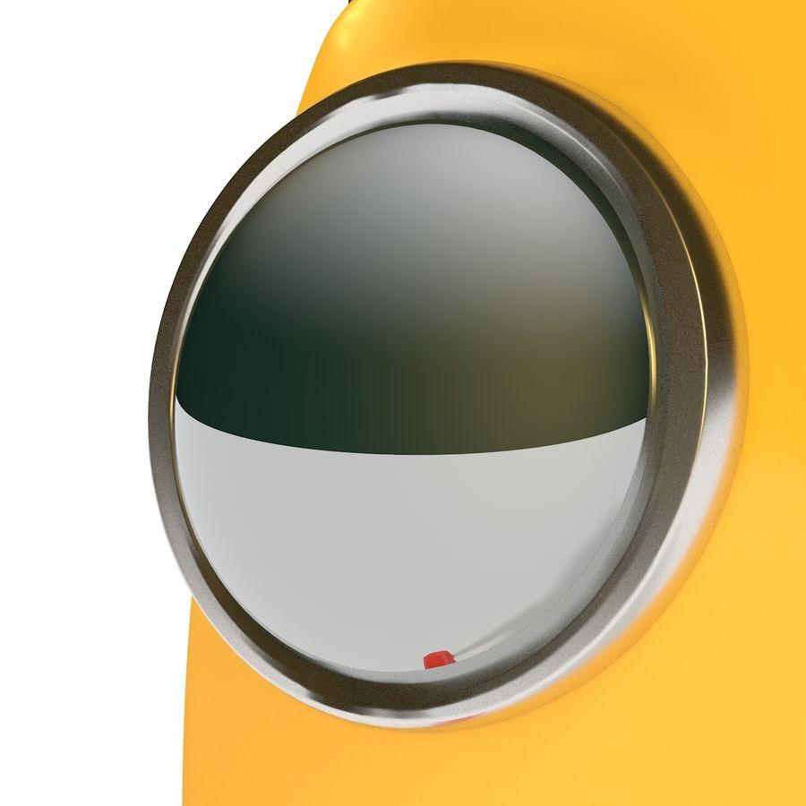 Rocket comic royalty-free 3d model - Preview no. 8
