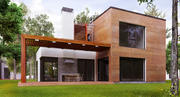 Maison moderne 3d model