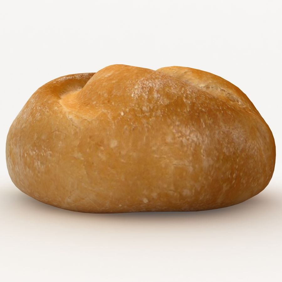 Kaiser Roll royalty-free 3d model - Preview no. 4