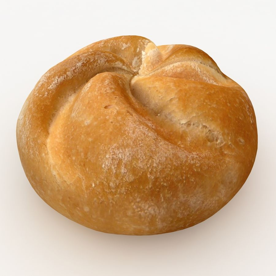 Kaiser Roll royalty-free 3d model - Preview no. 2