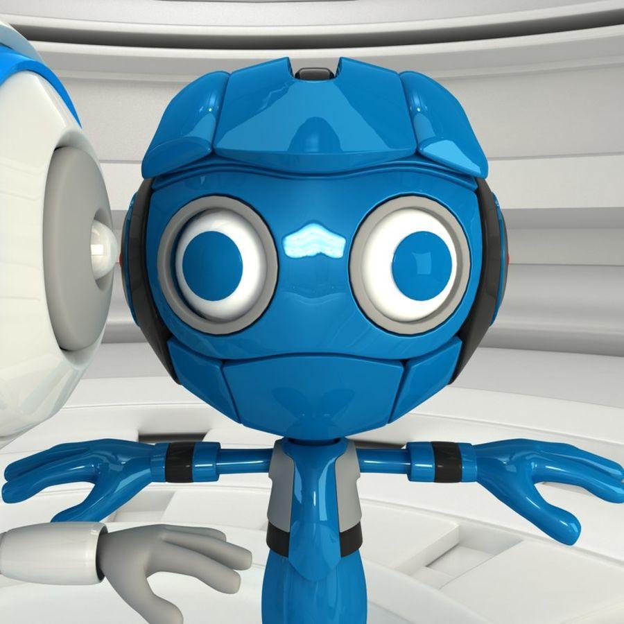 Robot Set royalty-free 3d model - Preview no. 5
