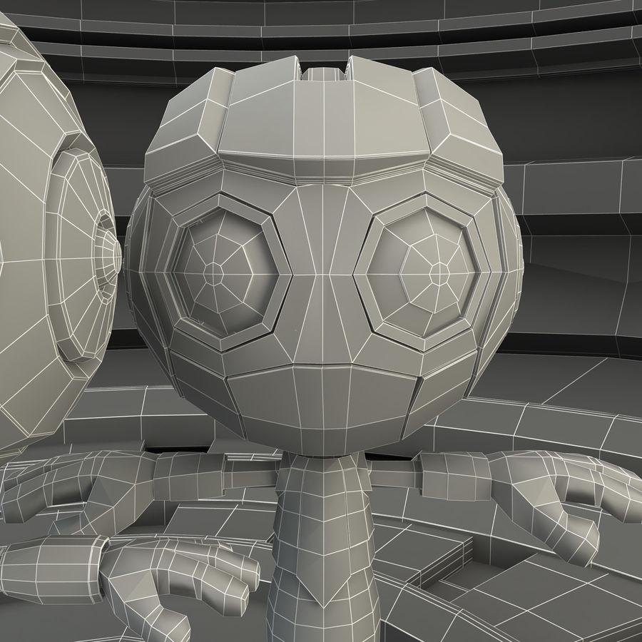 Robot Set royalty-free 3d model - Preview no. 11