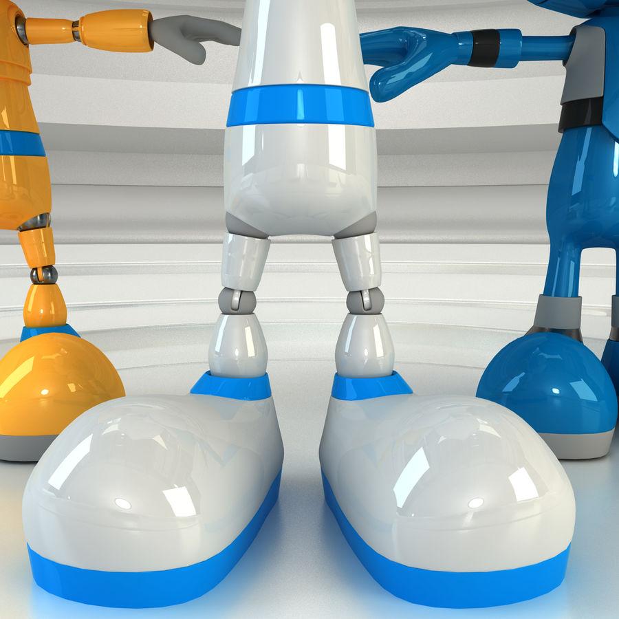 Robot Set royalty-free 3d model - Preview no. 6