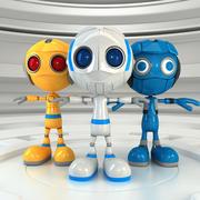 Robot Set 3d model