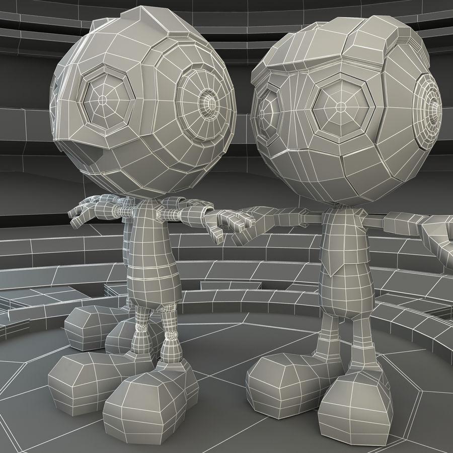Robot Set royalty-free 3d model - Preview no. 9