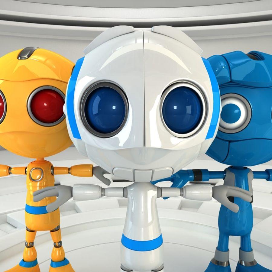 Robot Set royalty-free 3d model - Preview no. 4