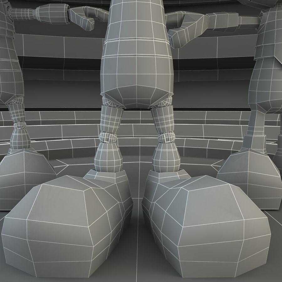 Robot Set royalty-free 3d model - Preview no. 12
