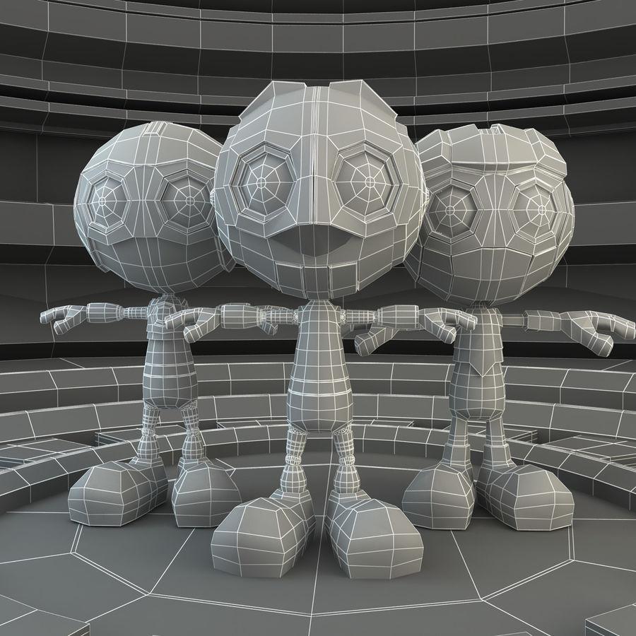 Robot Set royalty-free 3d model - Preview no. 7