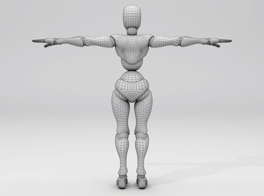 Animated Dancing Robot royalty-free 3d model - Preview no. 9