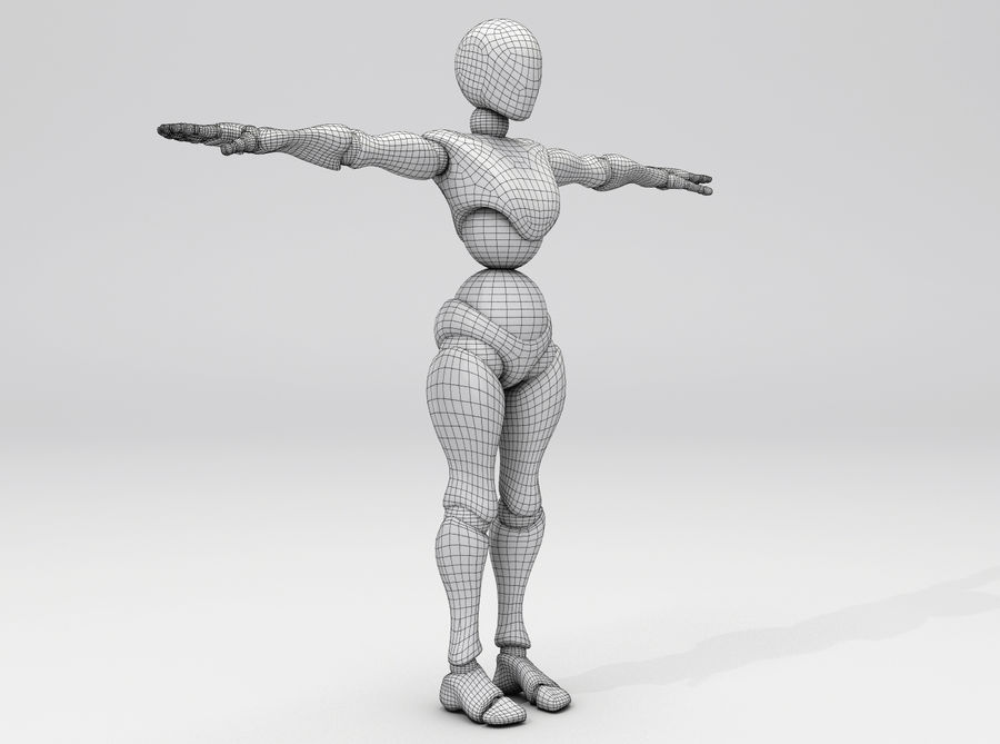 Animated Dancing Robot royalty-free 3d model - Preview no. 6
