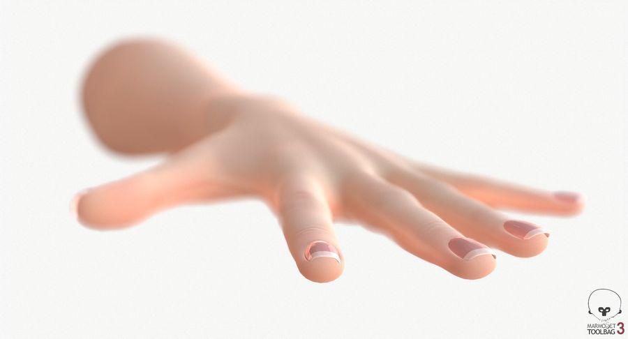 Vrouwelijke hand royalty-free 3d model - Preview no. 17