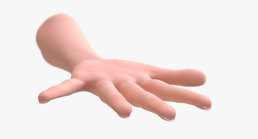 Vrouwelijke hand royalty-free 3d model - Preview no. 5