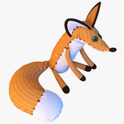 Kleiner Prinz Fox 3d model