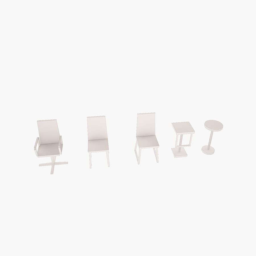 Simply Interior furniture royalty-free 3d model - Preview no. 10