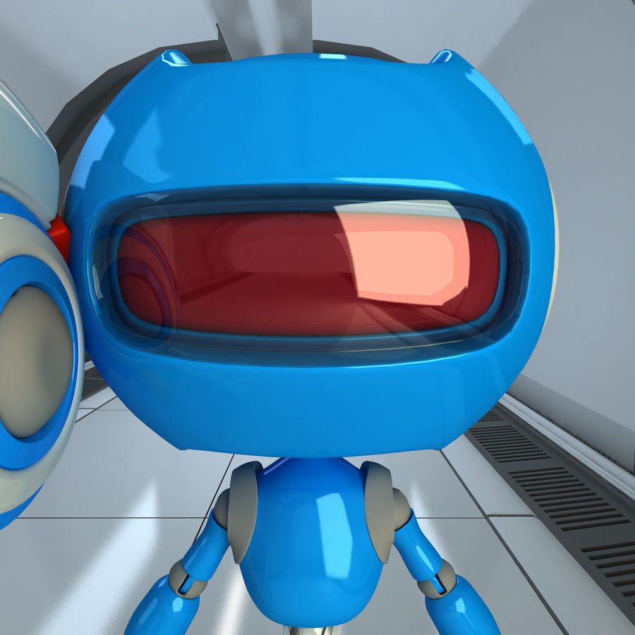 Robots Character royalty-free 3d model - Preview no. 9