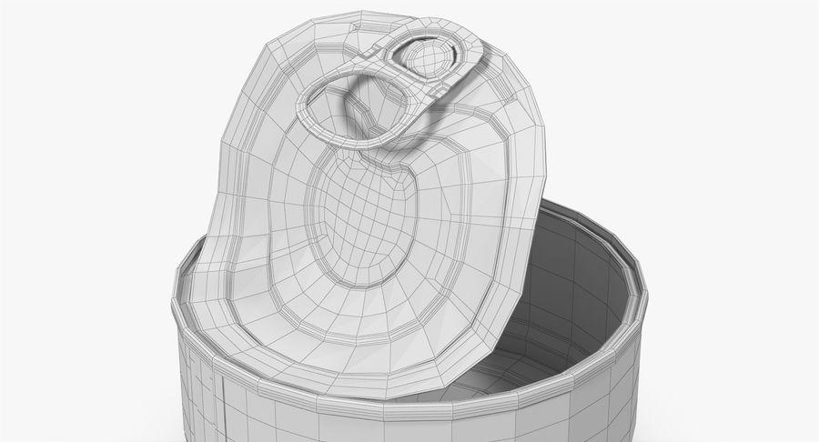 ブリキ缶オープン3 royalty-free 3d model - Preview no. 22