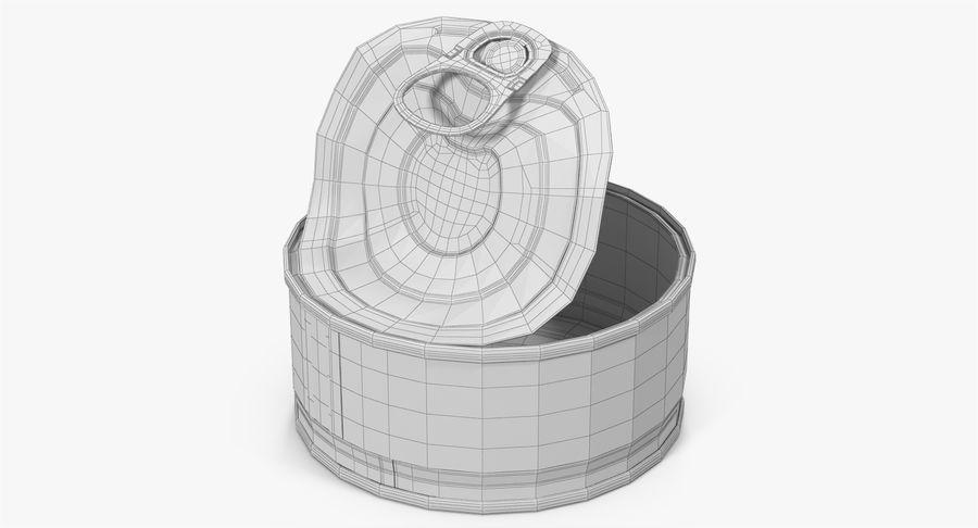 ブリキ缶オープン3 royalty-free 3d model - Preview no. 19