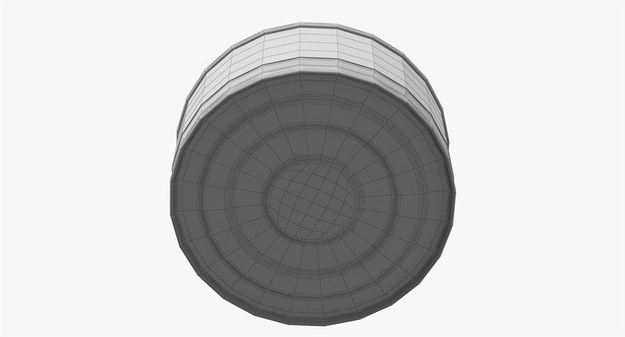 ブリキ缶オープン3 royalty-free 3d model - Preview no. 25