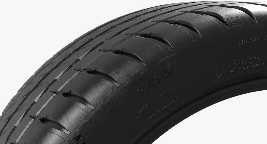Michelin Pilot Sport 4 S royalty-free 3d model - Preview no. 4
