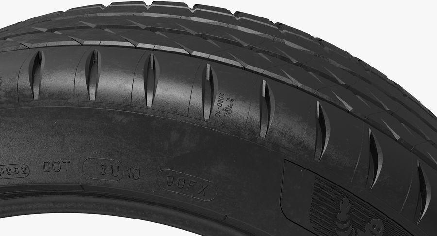 Michelin Pilot Sport 4 S royalty-free 3d model - Preview no. 8