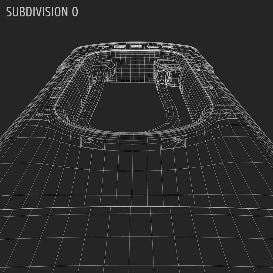 Tesla Supercharger station royalty-free 3d model - Preview no. 9