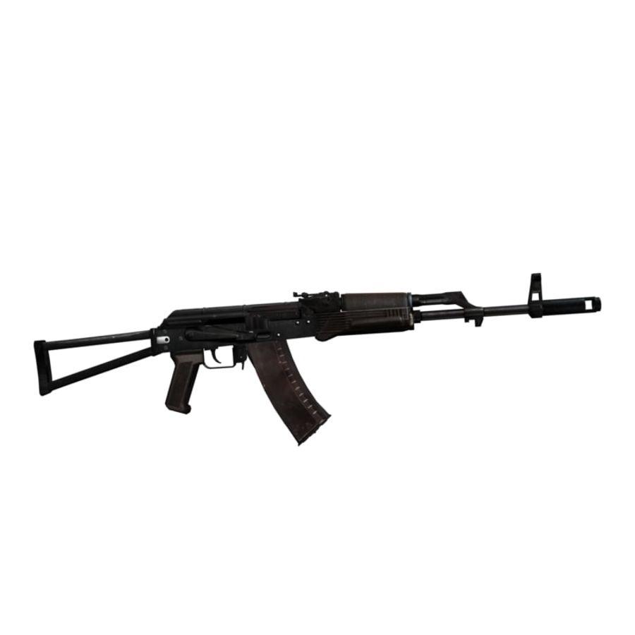 AKC-74 royalty-free 3d model - Preview no. 1