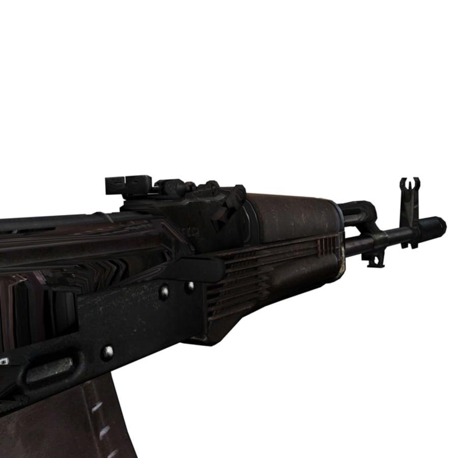 AKC-74 royalty-free 3d model - Preview no. 7