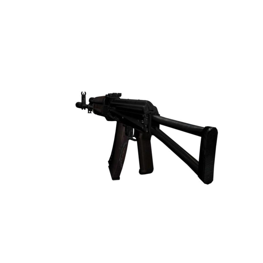 AKC-74 royalty-free 3d model - Preview no. 4