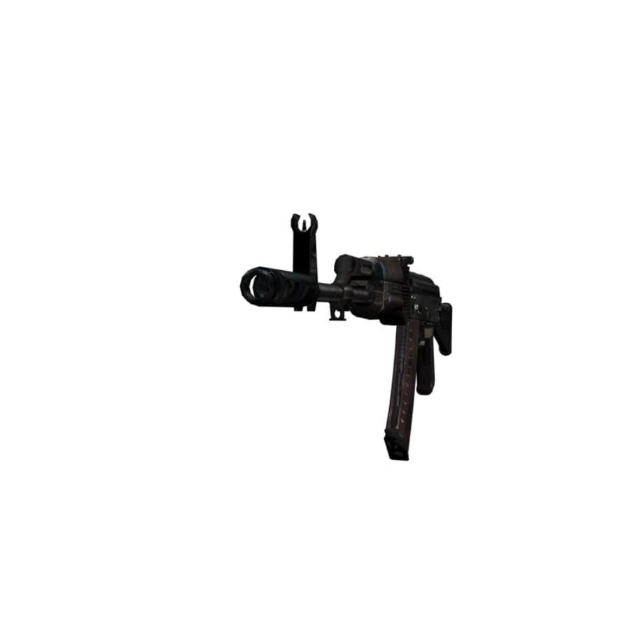 AKC-74 royalty-free 3d model - Preview no. 2