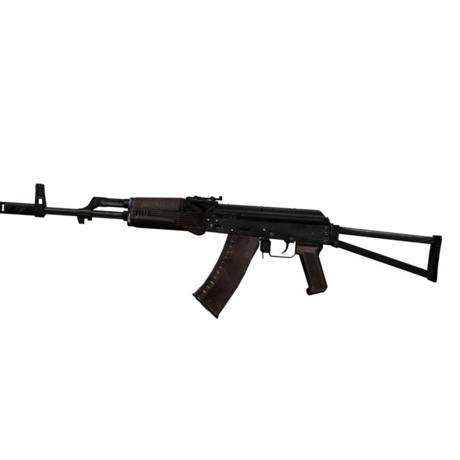 AKC-74 royalty-free 3d model - Preview no. 3