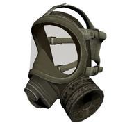 Maska gazowa 3d model